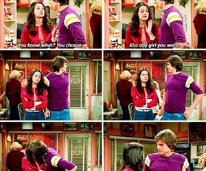 kiss, that 70s show, and cute image