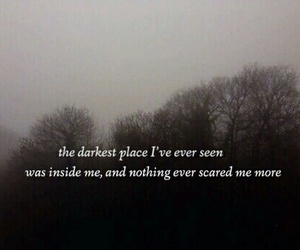 dark, quotes, and sad image