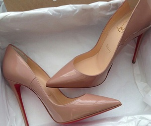 beige, louboutin, and paris image