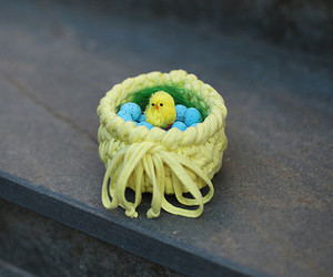 basket, easter, and etsy image