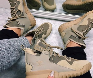 adidas, shoes, and couple image