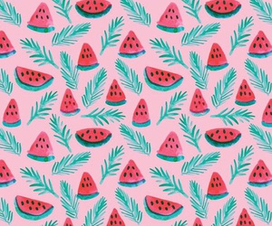background, watermelon, and wallpaper image