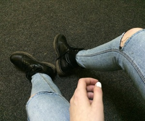 boots, fairskin, and girl image