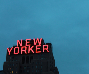 new york, new yorker, and sky image