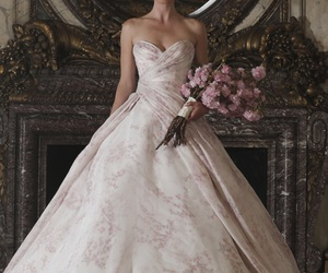 fashion, wedding dress, and clothes image