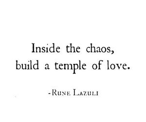 Build, chaos, and quotes image