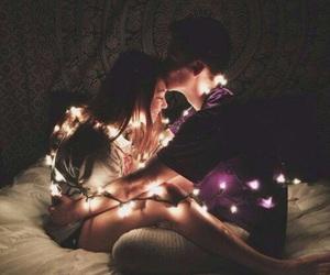 bedroom, boyfriend, and kiss image
