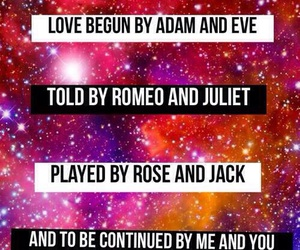 romeo juliet, me n you, and will you image