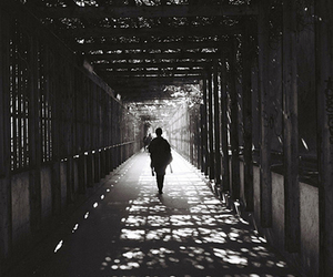 shadow and black and white image