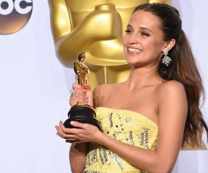 oscars, alicia vikander, and pretty image