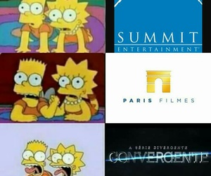 four, funny, and simpson image