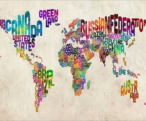 world, country, and map image