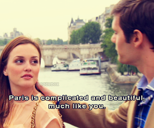 gossip girl, paris, and love image