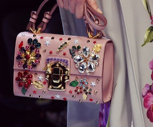 bag, beautiful, and D&G image