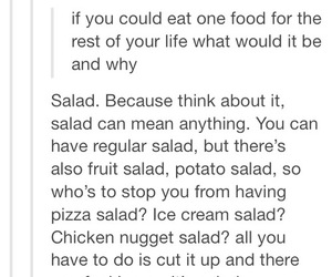 food, quote, and tumblr image