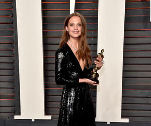 after party, red carpet, and alicia vikander image