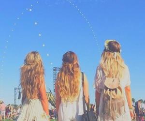 coachella, festival, and girls image