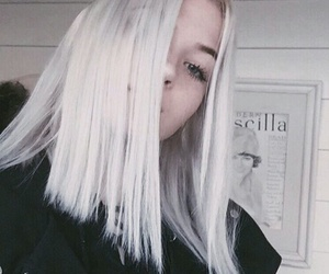 hair, okaysage, and grunge image