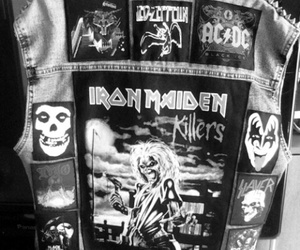 iron maiden and metal band image