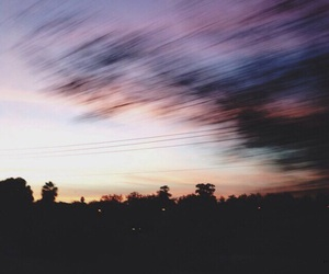 sky, tumblr, and grunge image