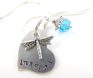 dragonfly, inspire, and dragonfly necklace image