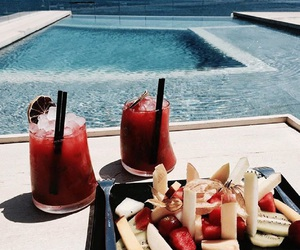 drink, fitness, and food image