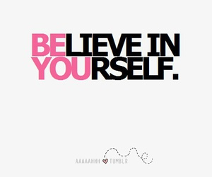 believe, quote, and be you image