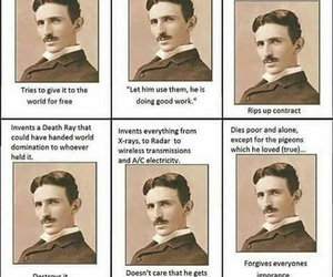 Tesla, awesome, and funny image