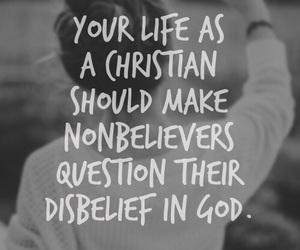god, christian, and quote image