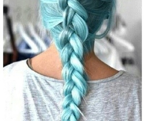 blue, braid, and goals image