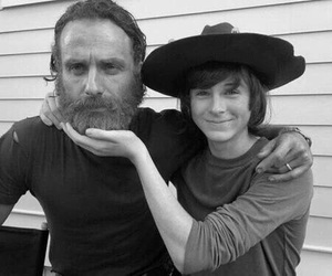 twd, the walking dead, and carl image