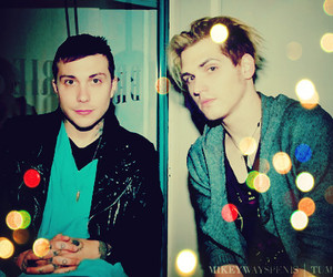 frank iero and mikey way image