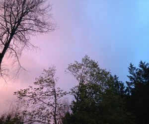 sky, nature, and grunge image