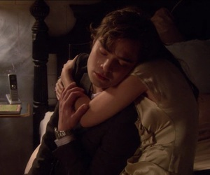 couple, cry, and gossip girl image