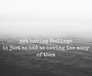 easel, feelings, and quote image