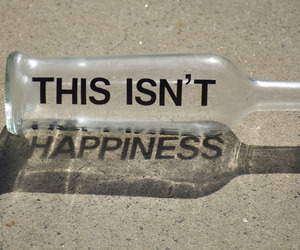 bottle, happiness, and grunge image