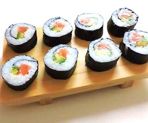 channel, recipe, and sushi image