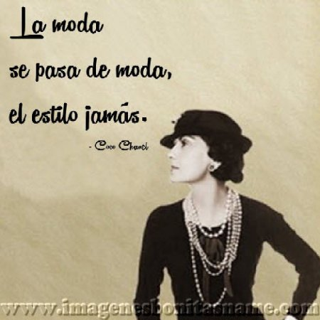 Coco Chanel Español Shared By victoria On We Heart It