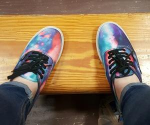 galaxy, vans, and galaxy vans image