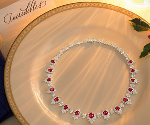 style, luxury, and necklace image