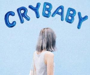 blue, melanie martinez, and cry baby image
