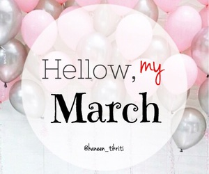 birthday, march, and mine image