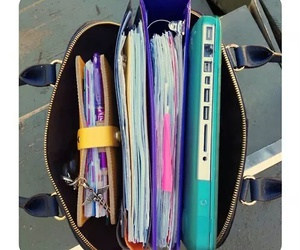 bag, study, and school image