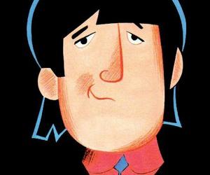 john lennon and the beatles cartoon image