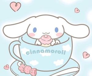 kawaii, cinnamoroll, and wallpaper image