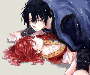 anime, hak, and yona image