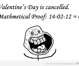 Valentine's Day, funny, and forever alone image