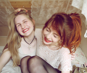 best friend, red hair, and nadia esra image