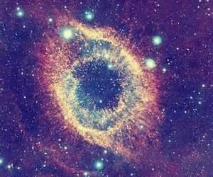 galaxy, stars, and pretty image
