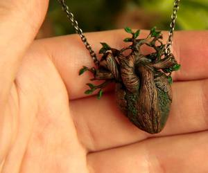 clay, nature, and necklace image